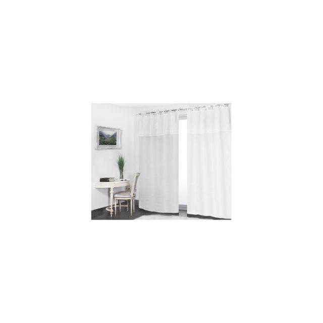 rideaudiscount voilage nouettes 140 x 280 cm grande. Black Bedroom Furniture Sets. Home Design Ideas
