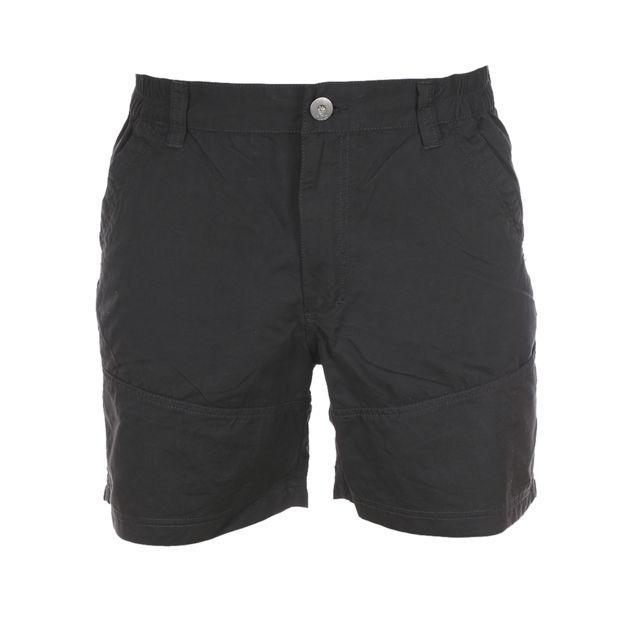 Tbs - Short en toile noire - pas cher Achat