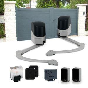 nice kit motorisation popkit 24v portail battant 2x2m pas cher achat vente motorisation de. Black Bedroom Furniture Sets. Home Design Ideas