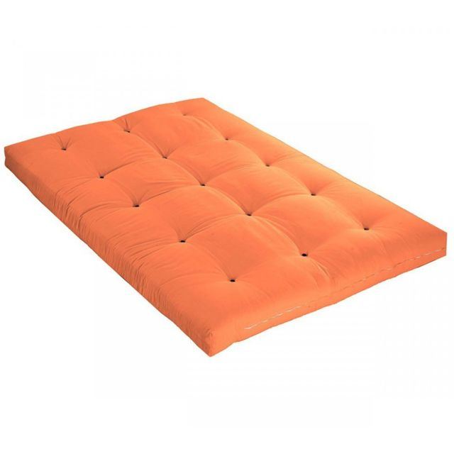 terre de nuit matelas futon goyave en coton 90x190 achat. Black Bedroom Furniture Sets. Home Design Ideas