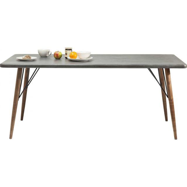Karedesign Table en bois X Factory 180x90cm Kare Design