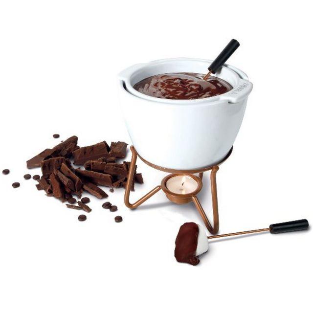BOSKA service à fondue chocolat au bain-marie - 0320400