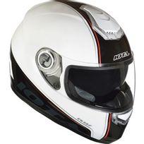 Iota - Casque Fp09 Deco Blanc Noir