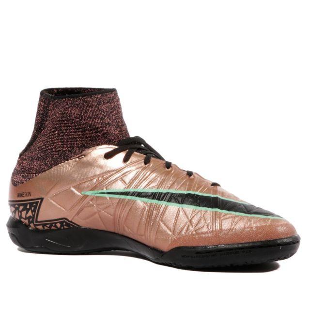 Nike Hypervenomx Proximo Ic Homme Chaussures Futsal Cuivre