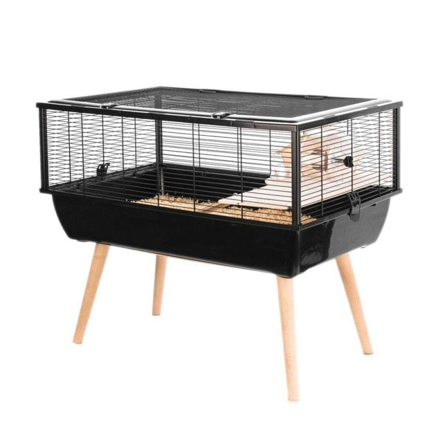 Zolux Cage Petits Rongeurs Neo Nigha Noire