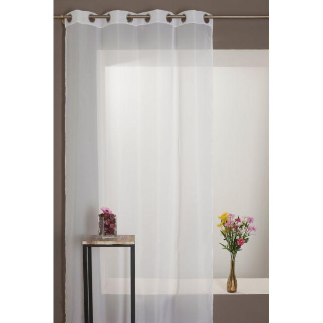 rideaudiscount rideau voilage antifeu m1 grande hauteur. Black Bedroom Furniture Sets. Home Design Ideas