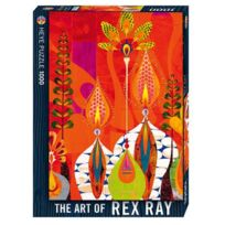 Heye - Puzzle 1000 pièces - Rex Ray : Chrysoto