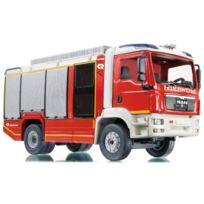 Siku - 7334 - VÉHICULE Miniature - ModÈLE À L'ÉCHELLE - Camion De Pompiers - Rosenbauer At Man Tgm - MÉTAL - Echelle 1/43