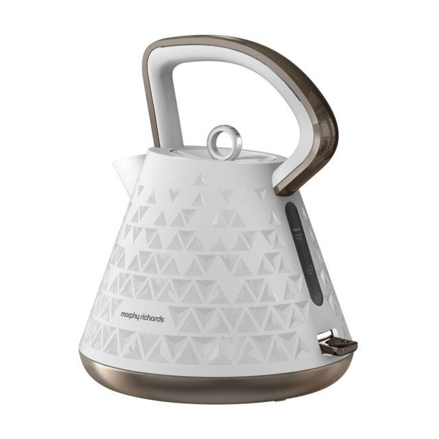 Morphy Richards Bouilloire Prism 2200 W 1.5 L - blanc - M108102EE