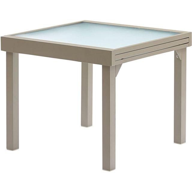 WILSA GARDEN - Table jardin Modulo 4 à 8 personnes - pas cher Achat ...