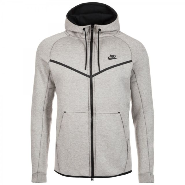 Nike - Sweat à capuche Nike Sportswear Tech Fleece Windrunner - 805144-072 3de924899e6c