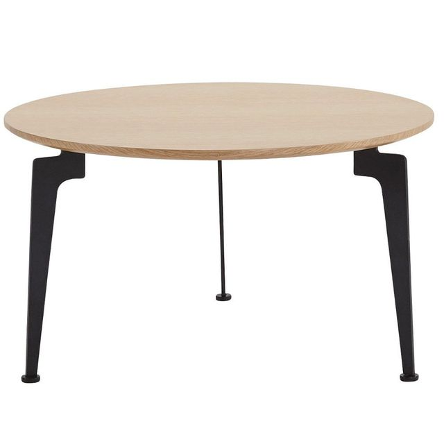 Inside 75 Table basse design scandinave Laser taille L chêne