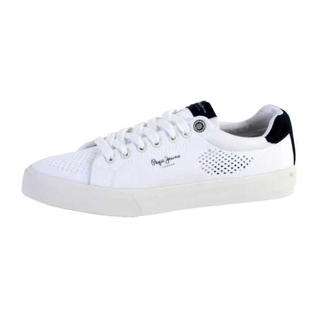 9590371a07df Pepe Jeans - Basket Nate Summer - pas cher Achat   Vente Baskets homme -  RueDuCommerce