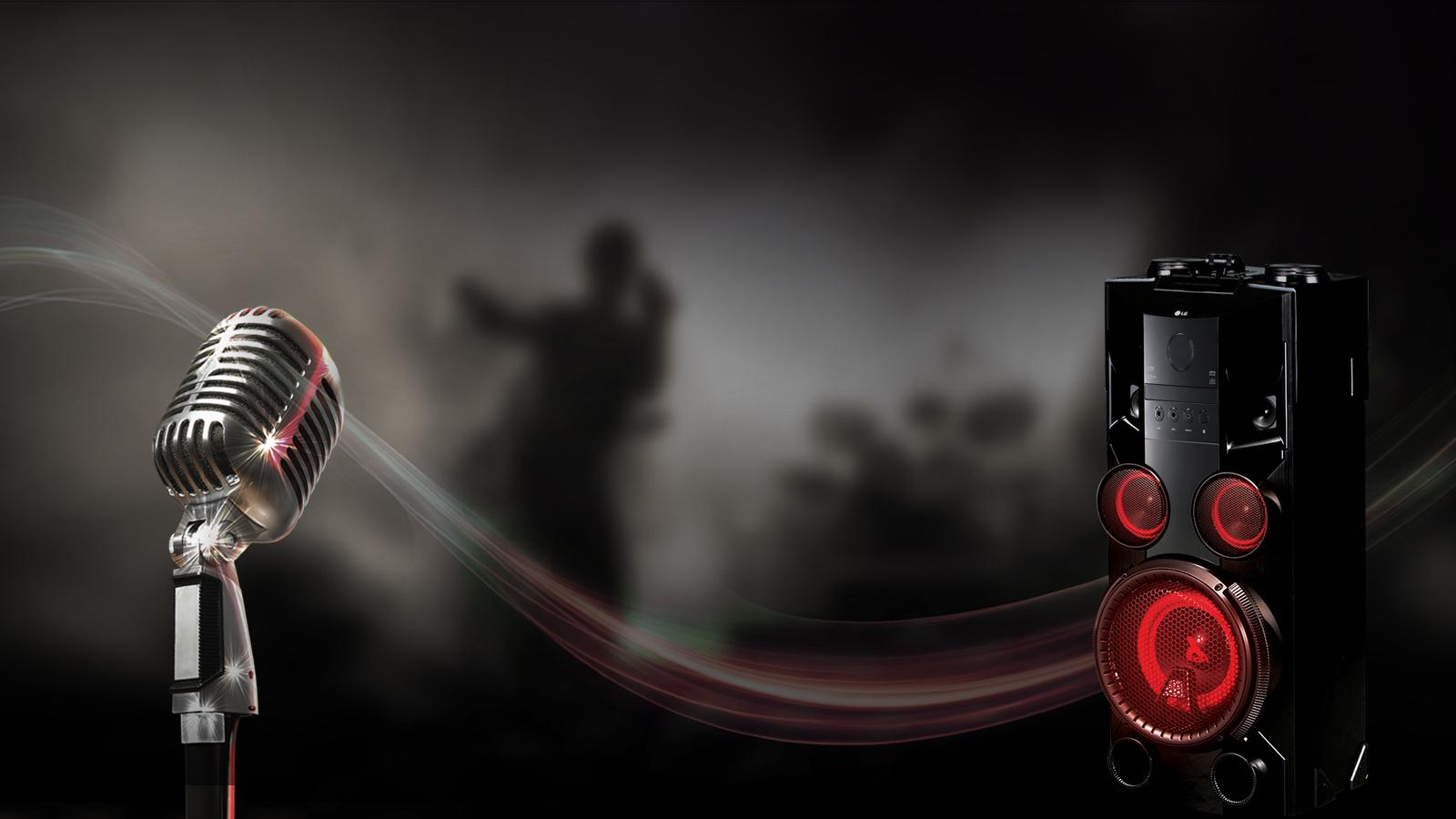 Chaine hifi - OM5560 - Noir
