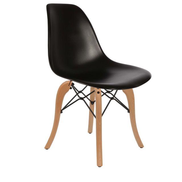 Chaise Privee Chaise Dsw Couleur: Noir