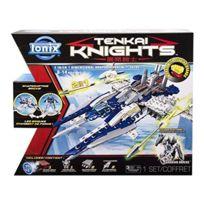 Ionix Tenkai Knights - Jeu De Construction Coffret 2 En 1 Portail Temporel/vaisseau Spatial