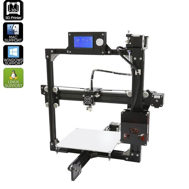 Yonis Imprimante 3D En Kit Diy Metal Mac Windows Linux Impression 3D Pla Abs