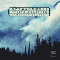 Dux - Karol Szymanowski - Quatuor à cordes no. 1 en ut majeur opus 37, Quatuor à cordes no. 2 opus 56 DigiPack