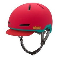 Nutcase - Casque Tracer Ember Red rouge mat
