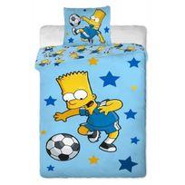 The Simpsons - Parure de lit Bart Simpsons Football
