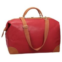 David Jones - Sac de Voyage Cabine Low Cost 39 cm Rouge