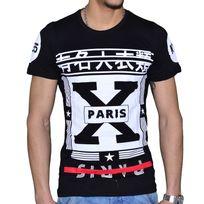 Celebrytees - En Solde - Celebry Tees - T Shirt Manches Courtes - Homme - Tokyo - Noir