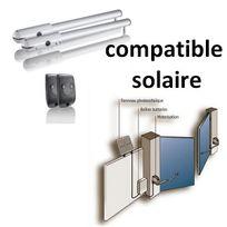 Somfy - Motorisation de portail battant Sgs 501 Compatible Solaire kit solaire à part