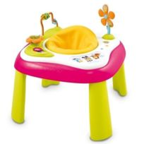 Smoby - Cotoons Siege d'Activités Youpi Baby Rose