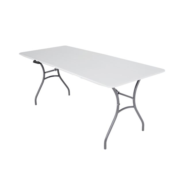 LIFETIME - Table de jardin pliante - 1,83 x 0.76 x 0.74 cm ...
