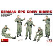 Miniart - Figurines 2ème Guerre Mondiale : Artilleurs allemands pour canon automoteur