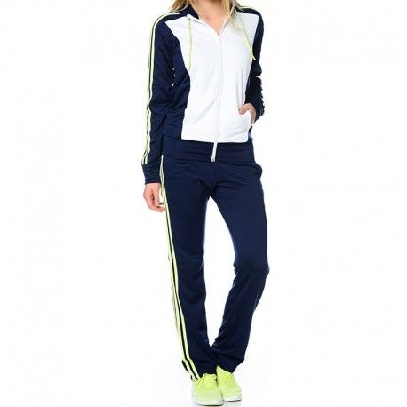 Adidas originals - Survêtement New Young Knit Blanc Femme Adidas ... ff18aae98cd