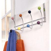 Linea Bertomani - Porte-manteaux 8 têtes boules de couleurs