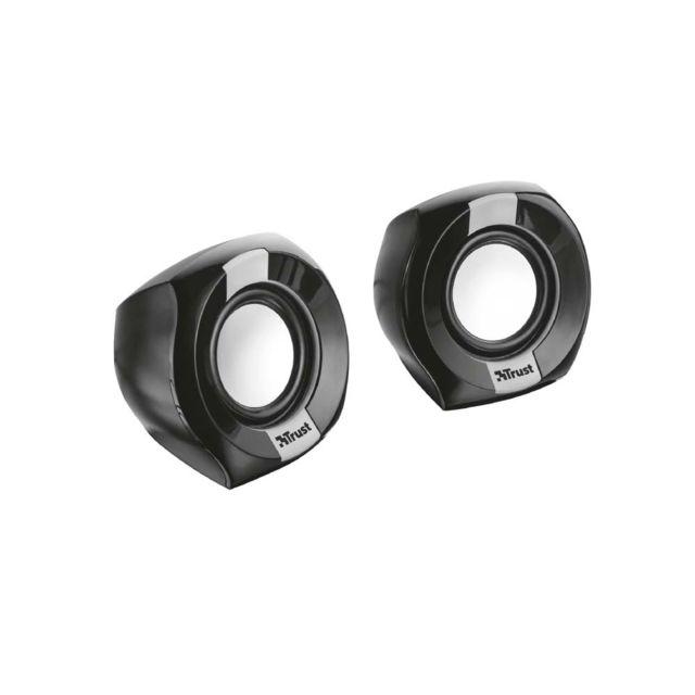 Trust Polo 2.0 Speaker Set - Noir Polo 2.0 Speaker Set - Noir - Enceinte compact 2.0 4W