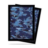 Ultra Pro - 330673 - Jeu De Cartes - Housse De Protection - Camouflage Navy - 50 PiÈCES - D12