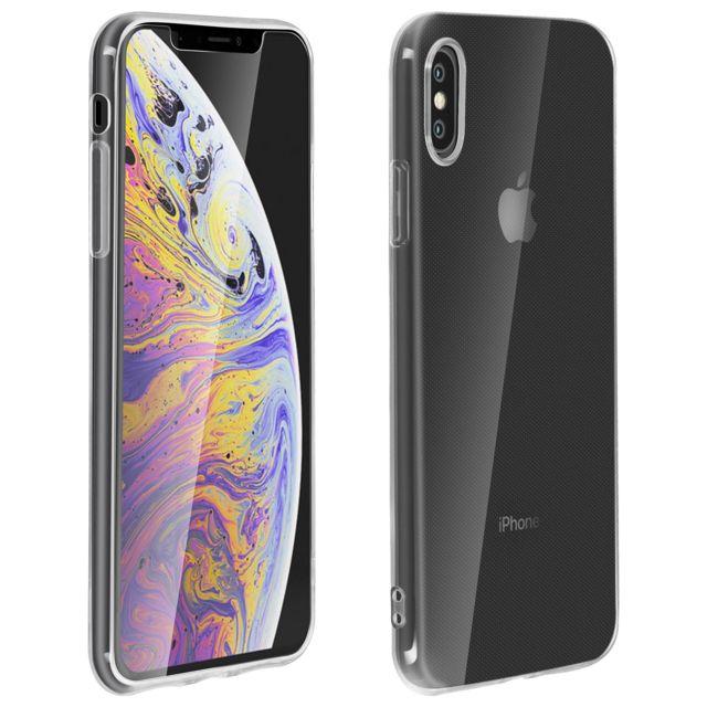 coque iphone xs max 360 silicone