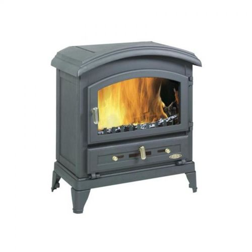godin po le bois fonte 10kw 310101n gris pas cher. Black Bedroom Furniture Sets. Home Design Ideas