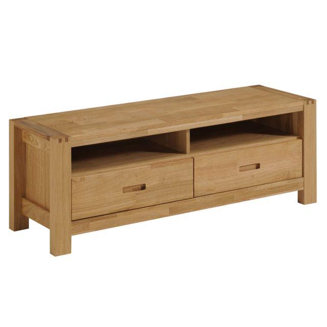 last meubles meuble tv stephane beige pas cher achat. Black Bedroom Furniture Sets. Home Design Ideas