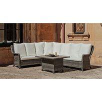 Hevea Jardin - Ensemble table et chaises de jardin abigeil - 7 places