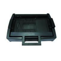 Thomson - Thgr47069 - Plaque de cuisson mixte grill / plancha - surface de cuisson 35,6 x 25,4 cm - Puissance 1650 watts