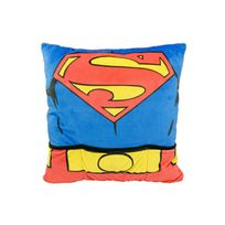 United Labels - Peluche - Superman 6coussin peluche Torso 40 x 40 cm