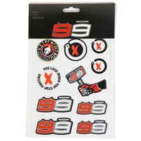 Jorge Lorenzo - Stickers Small Lorenzo Multicolor