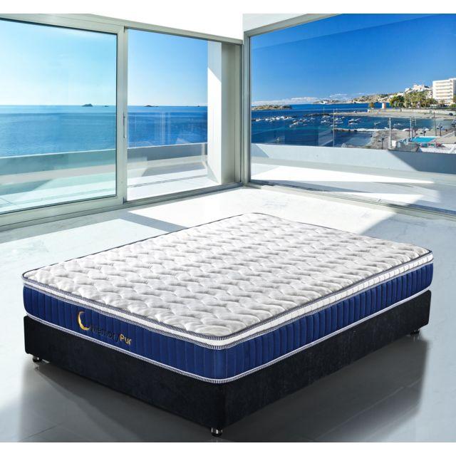 memorypur matelas azur h20 cm mousse hr sur matelas h4 cm m moire de forme plusieurs. Black Bedroom Furniture Sets. Home Design Ideas