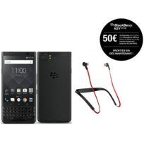 BLACKBERRY - KEYone - Black Edition + Jabra Halo Smart