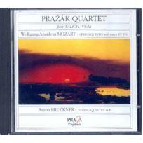 Praga Digitals - Wolfgang Amadeus Mozart - Quint. a cordes no. 4 Quatuor Prazak; Talich, 2ème alto + Bruckner