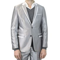 Kebello - Costume homme gris Vita