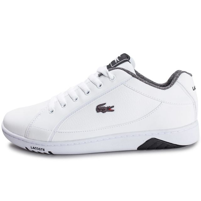 sneakers for cheap e5d74 bd725 basket lacoste blanche homme