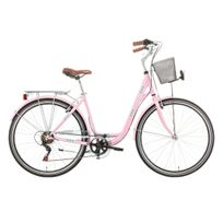 "Descheemaker - Vélo Dame Central Park 28"" 6 Vit. Rose 2017"