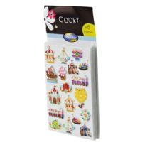 Maildor - stickers déco 3d cooky - pochette de 160