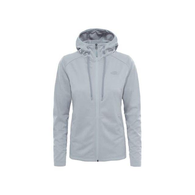 d44be41a3e The north face - Sweat-shirt Tech Mezzaluna gris femme - pas cher Achat /  Vente Sweat femme - RueDuCommerce