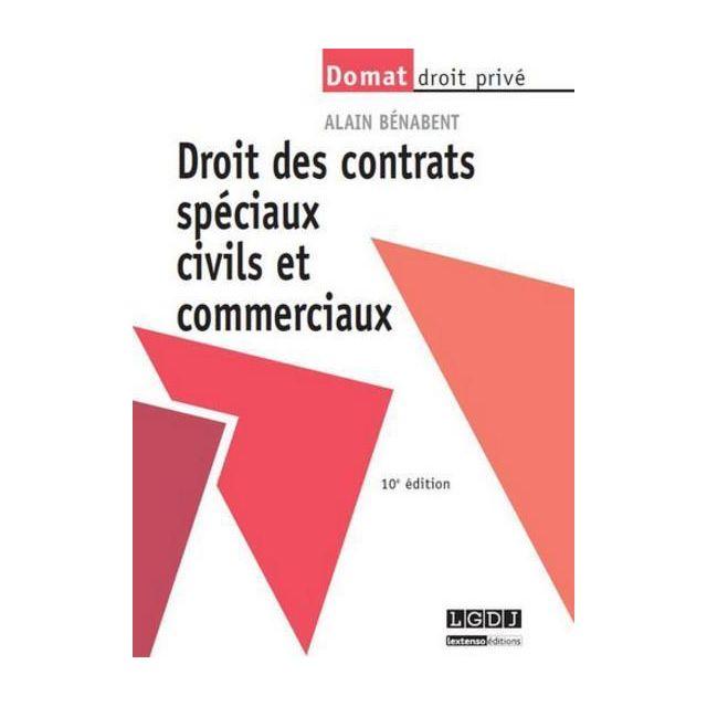 Lgdj les contrats sp ciaux civils et commerciaux 10e - Frais de port gratuit rue du commerce ...